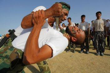 Irak, dobrovoljci, snage bezbjednosti