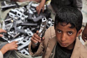 djeca, rat, oružje