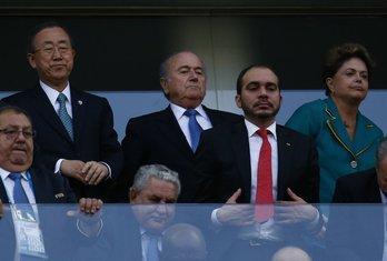 Ban Ki Mun, Dilma Rusef