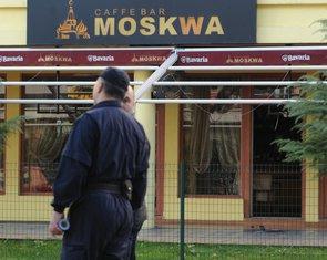 kafić Moskva ubistvo