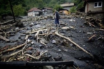 Bosna poplave Žepča
