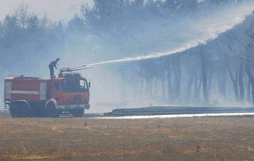 Ćemovsko polje požar