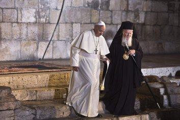 Papa Franjo, patrijarh Vartolomej