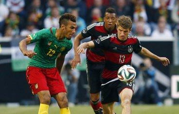 Tomas Miler, Njemačka - Kamerun