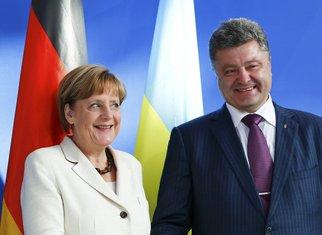 Angela Merkel, Petro Porošenko