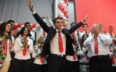 Aleksa Bečić skup Podgorica