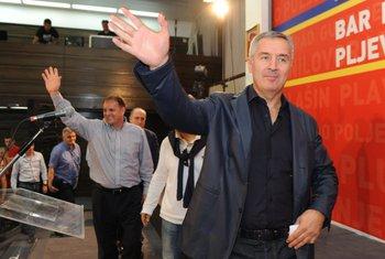 Slavoljub Stijepović, Milo Đukanović