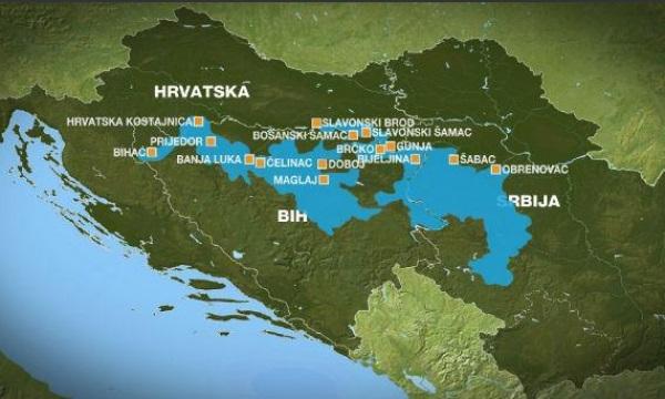 Objavljena Mapa Koja Prikazuje Razmjere Poplava U Regionu Vijesti Me