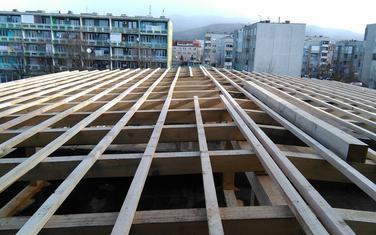 Radovi na krovu fakulteta u Nikšiću