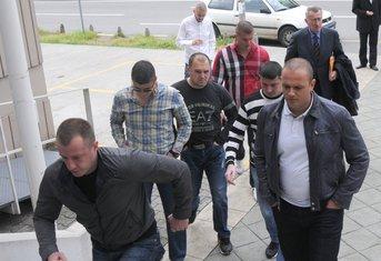 Ivan Bušković, Dejan Čurović, Dragoslav Perazić