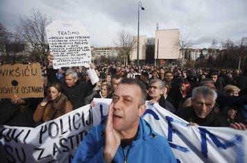 Bosna protesti, Sarajevo protesti