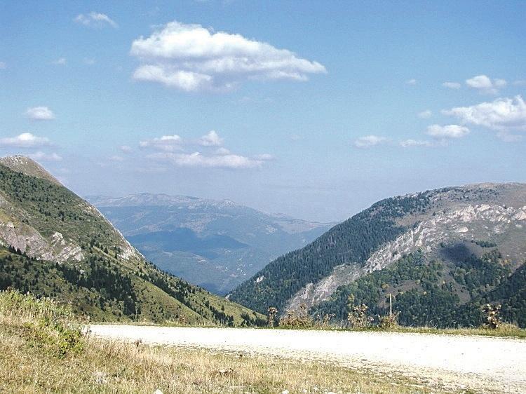 Čakor, Granica Crna Gora i Kosovo