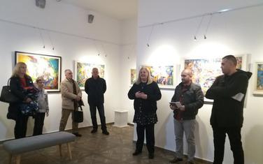 Sa otvaranja izložbe u Kotoru