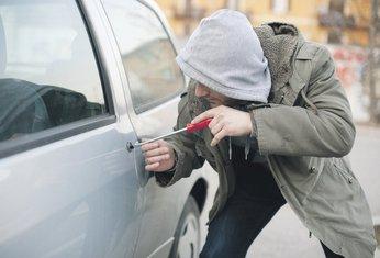 krađa vozila, lopov