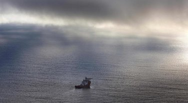 Nestali avion, Malezija erlajns, Australijski brod