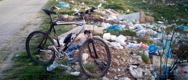 biciklo i smeće