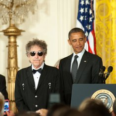Bob Dilan, Barak Obama