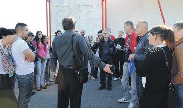 Albona štrajk