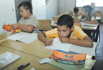 romska djeca u školi