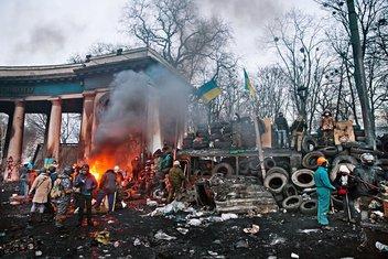 Kijev protesti, Kijev nasilje