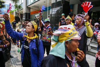 Tajland, protesti