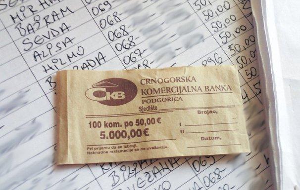 Berane novac