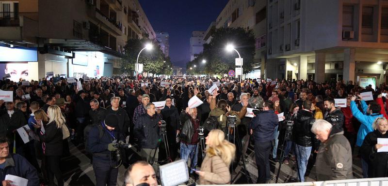 Nova M na protestima vidjela pet puta manje ljudi nego organizatori