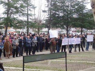 Solana protest