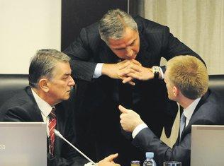 Vlada, Milo Đukanović, Igor Lukšić