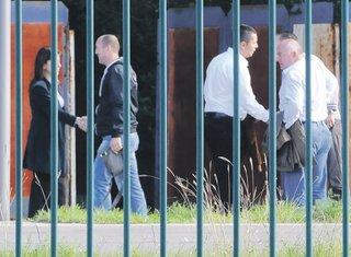 Tajni sastanak, policijski kamp zlatica