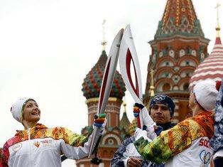 Olimpijske igre Soči baklja