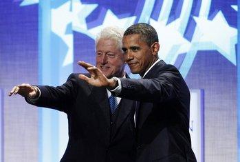Barak Obama i Bil Klinton
