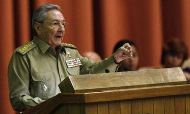 Raul Kastro, Kuba
