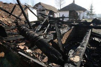 kuća, požar, Srbija