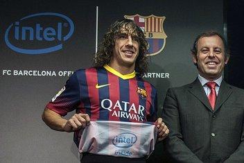 Intel reklama na dresu Barselone