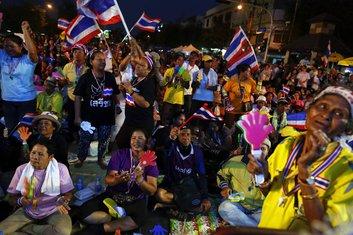 Tajland, protest