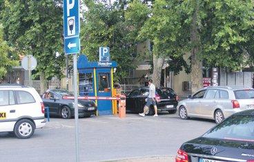 Parking, Budva
