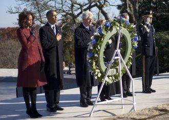 Džon Kenedi, grob, Barak Obama