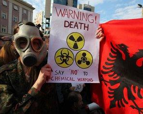 Albanija, protesti