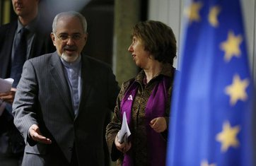 Mohamad Džavad Zarif, Ketrin Ešton