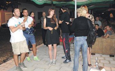 Udar, protest na Cetinju