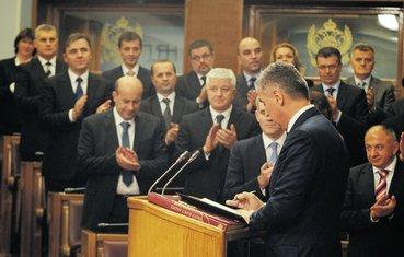 Milo Đukanović, izbor Vlade 2012.
