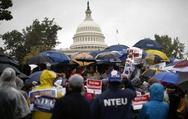 Protest ispred Kapitol hila