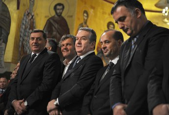 Hram Hristovog vaskrsenja, Emir Kusturica, Miomir Mugoša
