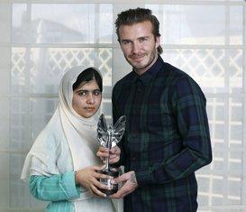 Malala Jusafzai i Dejvid bekam