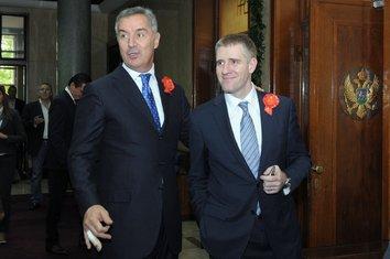 Milo Đukanović i Igor Lukšić