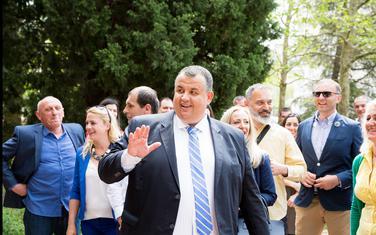 Predsjednik Biram Bar Radomir Novaković