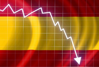 Španija, berza, kriza