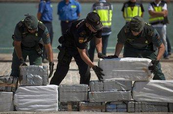 Španija, zaplijenjeno 800 kg kokaina