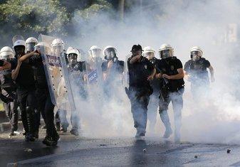 Turska, Istanbul, protesti